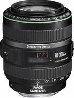 Canon EF 70-300 mm F4.5-5.6 DO IS USM 58 mm filter (geschikt voor Canon EF) zwart