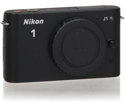 Nikon 1 J1 fotocamera di sistema body nero