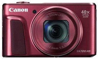 Canon PowerShot SX720 HS rood
