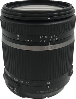 Tamron 18-270 mm F3.5-6.3 Di PZD VC II 62 mm filter (geschikt voor Nikon F) zwart
