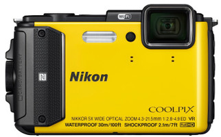 Nikon COOLPIX AW130 amarillo