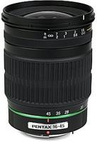 Pentax smc DA 16-45 mm F4.0 AL ED 67 mm Objectif (adapté à Pentax K) noir