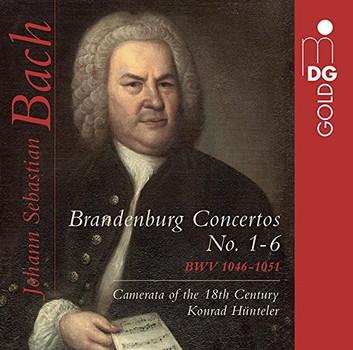 Camerata des 18.Jahrhunderts - Bach: Brandenburgische Konzerte 1-6 Huenteler