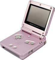 Game Boy Advance SP rosa