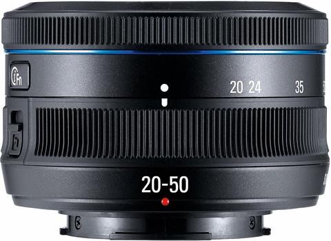 Samsung NX 20-50 mm F3.5-5.6 II 40,5 mm Objectif (adapté à Samsung NX) noir
