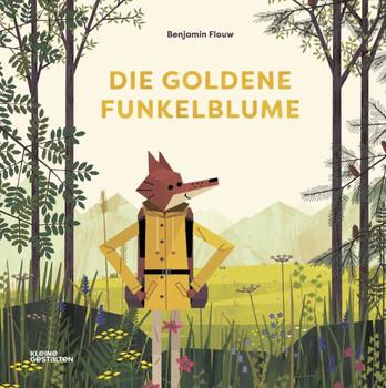 Die Goldene Funkelblume - Benjamin Flouw  [Gebundene Ausgabe]