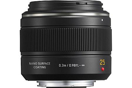 Panasonic Leica DG Summilux 25 mm F1.4 ASPH. 46 mm Obiettivo (compatible con Micro Four Thirds) nero