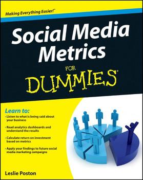 Social Media Metrics For Dummies by Lamar, Michelle ( Author ) ON Jun-12-2012, Paperback - Lamar, Michelle