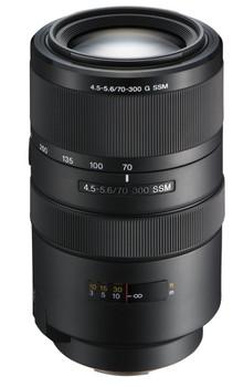 Sony 70-300 mm F4.5-5.6 G SSM 62 mm filter (geschikt voor Sony A-mount) zwart