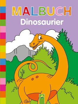 Malbuch Dinosaurier [Taschenbuch]