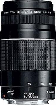 Canon EF 75-300 mm F4.0-5.6 III 58 mm Objectif (adapté à Canon EF) noir