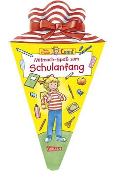 Conni Gelbe Reihe: Mitmach-Spaß zum Schulanfang - Hanna Sörensen  [Taschenbuch]