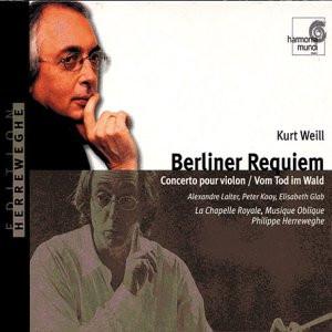 Herreweghe - Berliner Requiem u.a.
