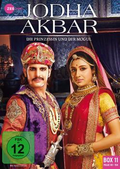 Jodha Akbar - Die Prinzessin und der Mogul [Box 11, Folge 141-154] [3 DVDs]
