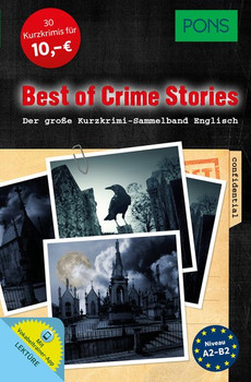 PONS Best of Crime Stories. Der große Kurzkrimi-Sammelband Englisch [Taschenbuch]