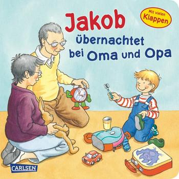 Jakob übernachtet bei Oma und Opa (Kleiner Jakob) - Grimm, Sandra