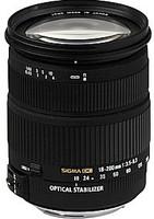 Sigma 18-200 mm F3.5-6.3 DC HSM OS 72 mm Objetivo (Montura Canon EF) negro