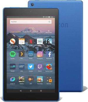 """Amazon Fire HD 8 8"""" 16GB [wifi, model 2018 incl. speciale aanbieding] blauw"""