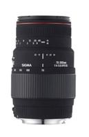 Sigma 70-300 mm F4.0-5.6 APO D DG Macro 58 mm filter (geschikt voor Nikon F) zwart