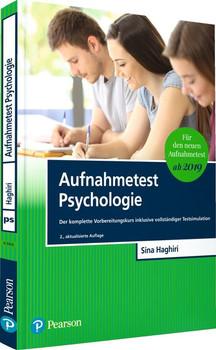 Aufnahmetest Psychologie. Der komplette Vorbereitungskurs inklusive vollständiger Testsimulation - Sina Haghiri  [Taschenbuch]