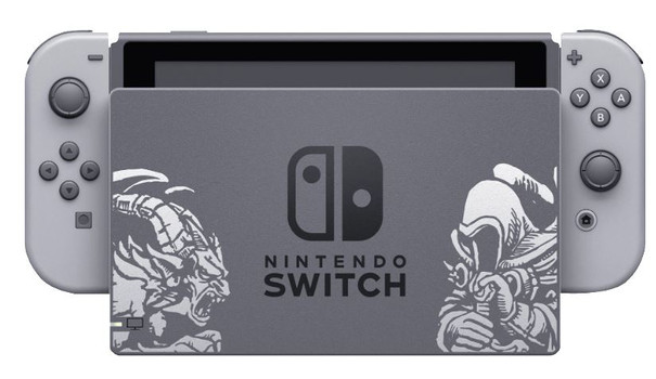 Nintendo Switch 32 GB [Diablo III Limited Edition incl. Mando gris/gris, Consola sin juego] gris