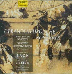 H. Rilling - Brandenburgische Konzerte 1-6