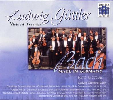 Ludwig Güttler - Bach - Made in Germany Vol. V (Ludwig Güttler's Bach)