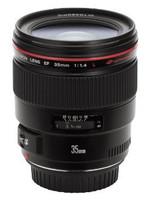 Canon EF 35 mm F1.4 L USM 72 mm filter (geschikt voor Canon EF) zwart
