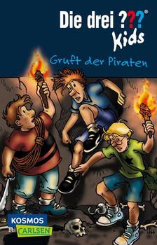 Die drei ??? Kids 7: Gruft der Piraten - Ulf Blanck  [Taschenbuch]