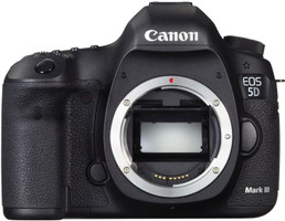 Canon EOS 5D Mark III body zwart