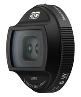 Panasonic 3D Lumix G 12,5 mm F12.0 (adapté à Micro Four Thirds) noir