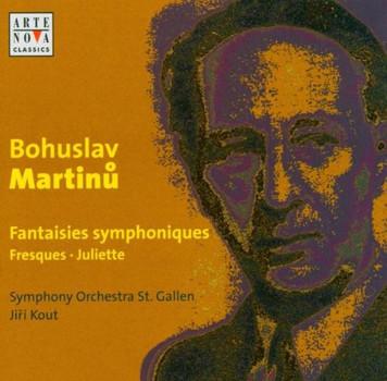 Jiri Kout - Martinu: Orchestral Works