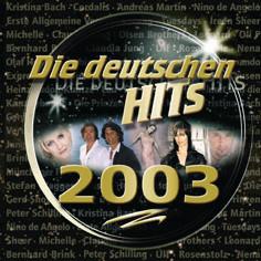 Various - Die Deutschen Hits 2003