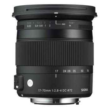 Sigma C 17-70 mm F2.8-4.0 DC HSM OS Macro 72 mm Obiettivo (compatible con Sigma SA) nero