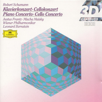 Justus Frantz, Wiener Philharmoniker - Robert Schumann: Klavierkonzert, Cellokonzert