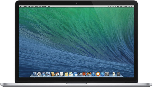 "Apple MacBook Pro 15.4"" (retina-display) 2.2 GHz Intel Core i7 16 GB RAM 256 GB PCIe SSD [Mid 2014, QWERTY-toetsenbord]"