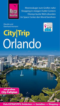 Reise Know-How CityTrip Orlando. Reiseführer mit Stadtplan und kostenloser Web-App - Klaudia Homann  [Taschenbuch]