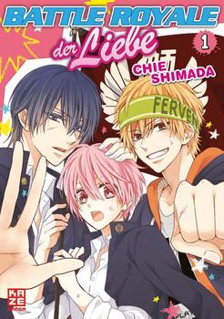 Battle Royale der Liebe 01 - Chie Shimada  [Taschenbuch]