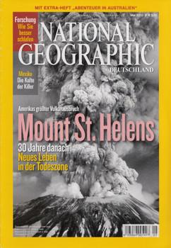 National Geographic Deutschland 05/2010: Mount St. Helens - 30 Jahre danach [Broschiert]