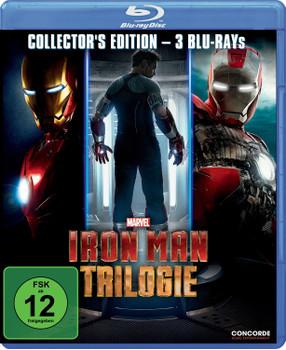 Iron Man Trilogie [Collector's Edition, 3 Discs]