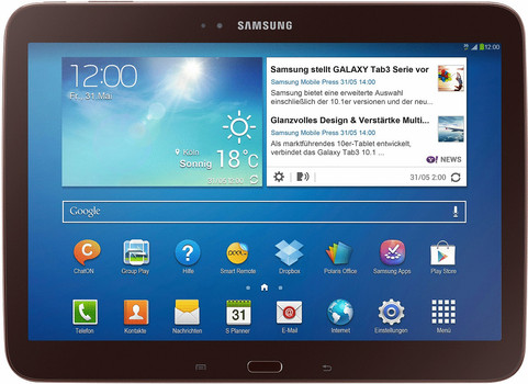 """Samsung Galaxy Tab 3 10.1 10,1"""" 16GB [wifi + 3G] goudbruin"""