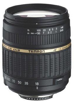 Tamron AF 18-200 mm F3.5-6.3 ASL Di IF LD XR II Macro 62 mm Obiettivo (compatible con Sony A-mount) nero