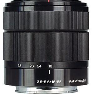 Sony E 18-55 mm F3.5-5.6 OSS 49 mm Objectif (adapté à Sony E-mount) noir