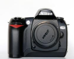Nikon D70 noir