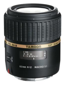 Tamron SP AF 60 mm F2.0 Di II Macro 1:1 55 mm Objectif  (adapté à Sony AF) noir