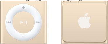 Apple iPod shuffle 4G 2GB goud [2015]