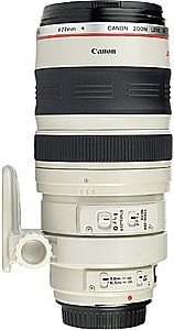 Canon EF 100-400 mm F4.5-5.6 IS L USM 77 mm Obiettivo (compatible con Canon EF) bianco