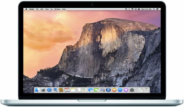 "Apple MacBook Pro 13.3"" (retina-display) 2.7 GHz Intel Core i5 8 GB RAM 128 GB PCIe SSD [Early 2015, QWERTY-toetsenbord]"