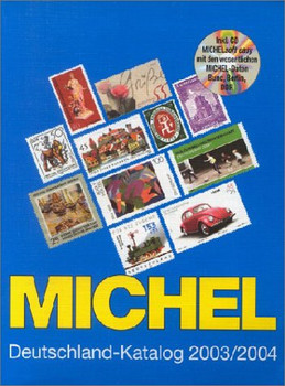 Michel Deutschland-Katalog 2003/2004, m. CD-ROM