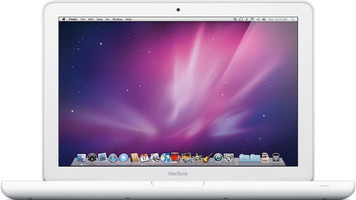 Apple MacBook 13.3 (Glossy) 2 GHz Intel Core 2 Duo 2 Go RAM 120 Go HDD (5400 U/Min.) [Début 2009, clavier anglais, QWERTY] weiß